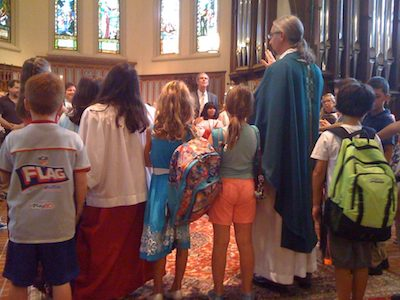 Blessing of the Backpacks - Teacher and Mentor Commissioning